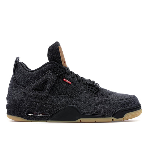 Nike Air Jordan 4 Retro Levi's Black
