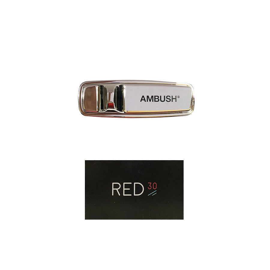 Ambush Security Pin Tag Silver