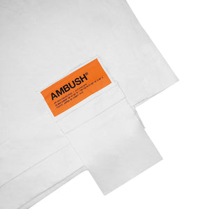 Ambush F/W Convertible Waist Bag Tee White