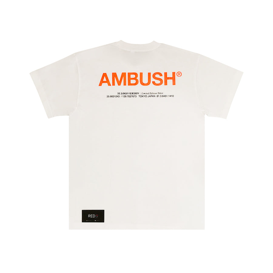 Ambush S/S 19 XL Logo Tee White