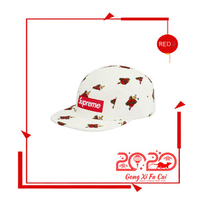Supreme Sacred Hearts Camp Cap White (CNY)