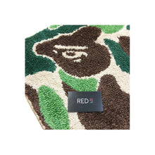 Load image into Gallery viewer, A Bathing Ape Green Camo Rug