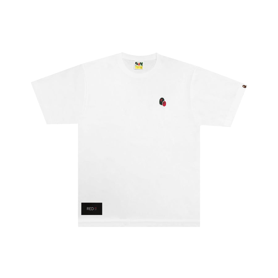 A Bathing Ape 2 Head Tee White {SALE}