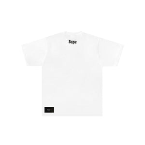 A Bathing Ape White College Tee White
