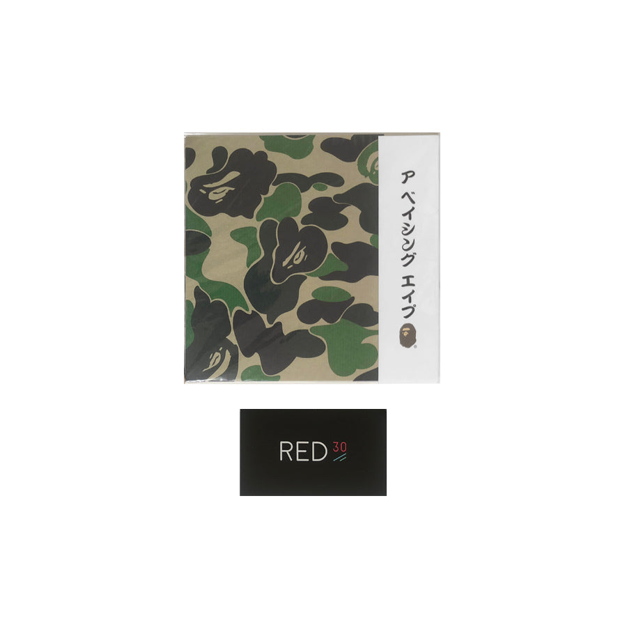 A Bathing Ape Origami Paper Multi Color Camo
