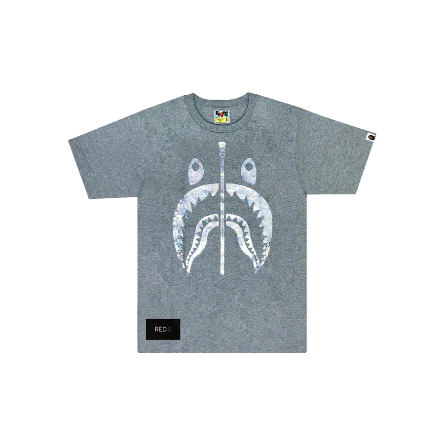 A Bathing Ape Aurora Shark Tee Grey