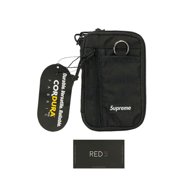 Supreme FW19 Small Zip Pouch Black
