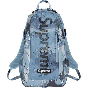 Supreme SS20 Backpack Blue Camo