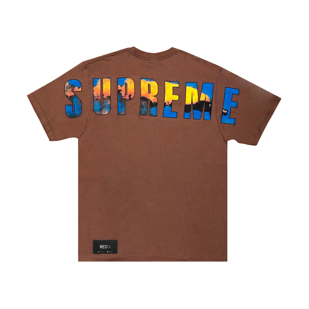 Supreme Crash Tee Rust Brown
