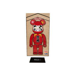Medicom Toy Daruma 400% Bearbrick Red