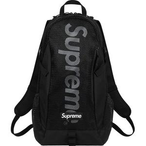 Supreme SS20 Backpack Black