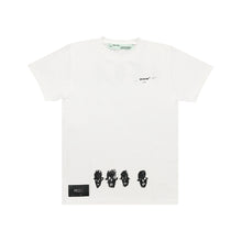 Load image into Gallery viewer, Off White Jean-Michel Basquiat Famous Tee White