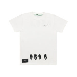 Off White Jean-Michel Basquiat Famous Tee White