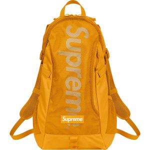 Supreme SS20 Backpack Gold