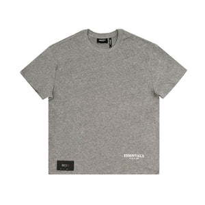Fear Of God Reflective Essential Tee Grey