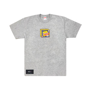 Supreme Cheese Tee Grey