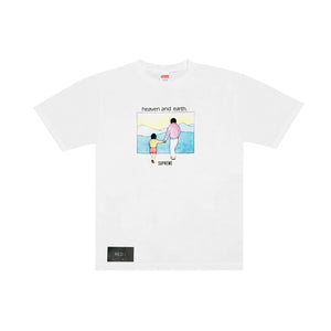 Supreme Heaven and Earth Tee White