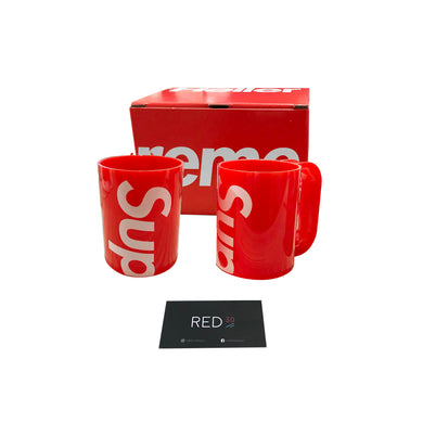 Supreme Heller Mugs (Set of 2) (Red)