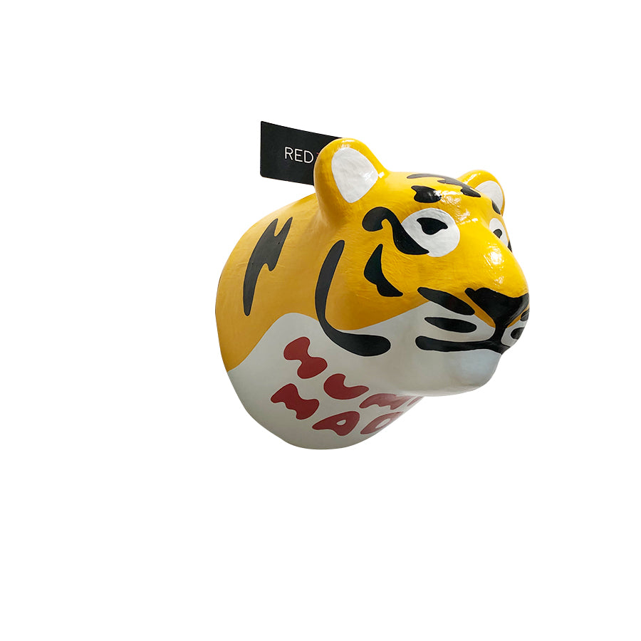 Human Made Tiger Trophy Paper Mache Display
