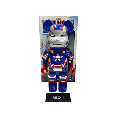 Medicom Toy Iron Man Patriot 400% Bearbrick