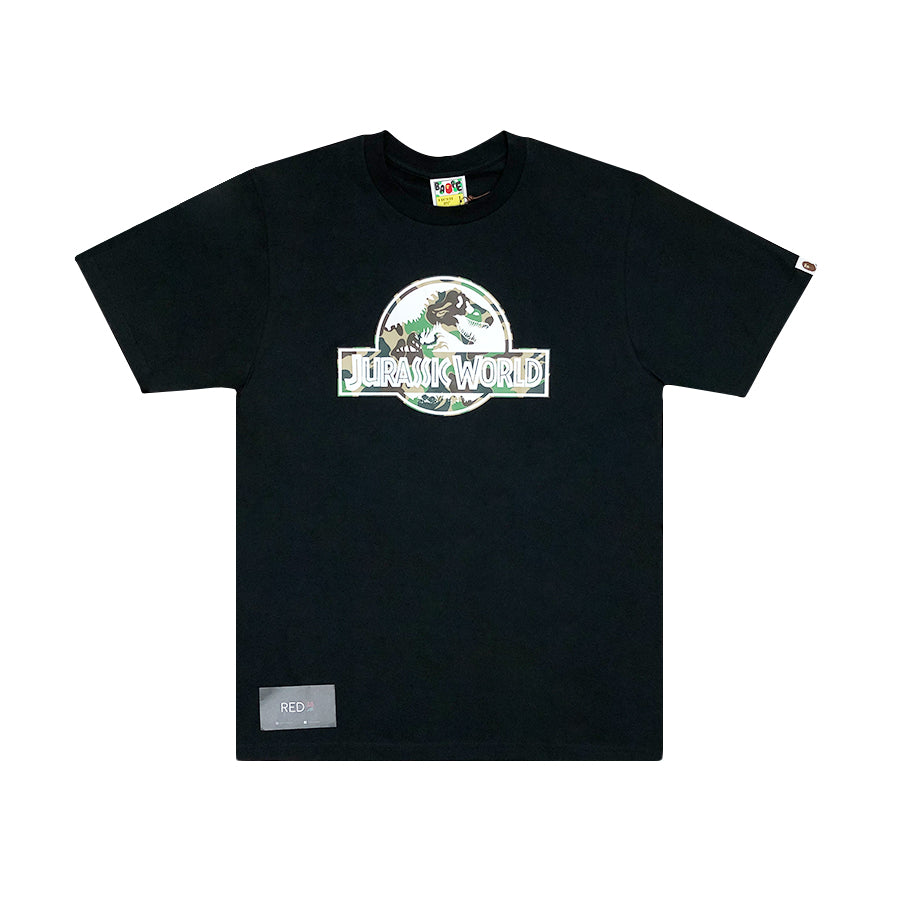 A Bathing Ape X Jurassic World Tee Black {SALE}