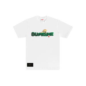 Supreme Lizard Tee White