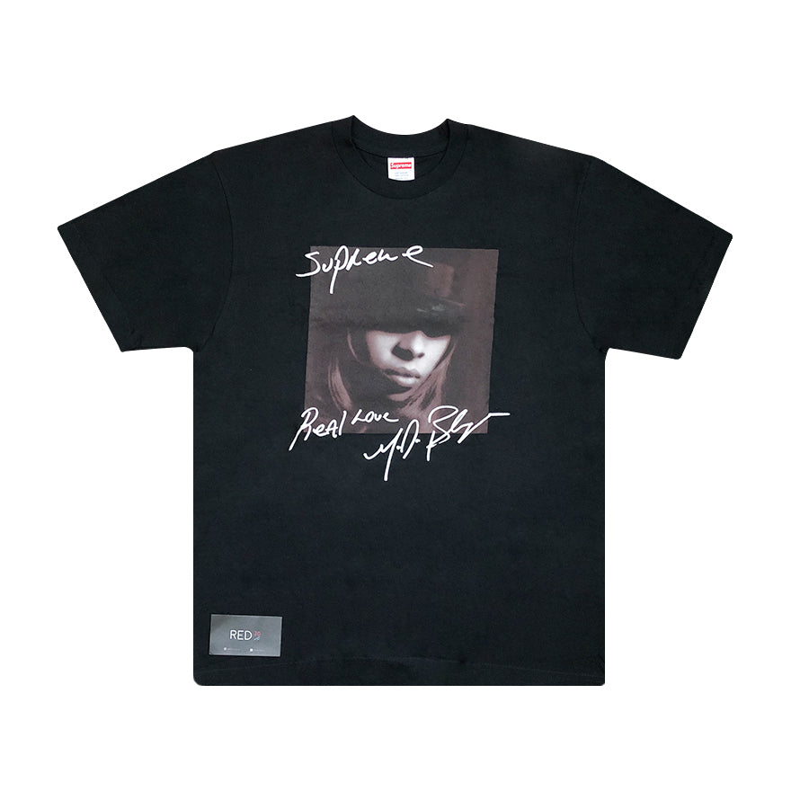 Supreme Mary J. Blige Tee Black