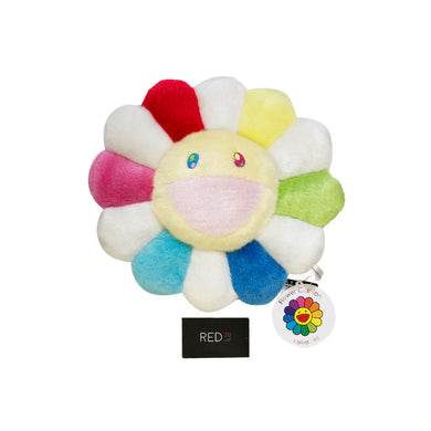 Murakami Flower Cushion White Multi