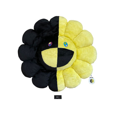 Murakami Flower Cushion Yellow Black 100CM