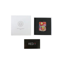 Load image into Gallery viewer, Murakami Flower Phone Ring Red Multicolor