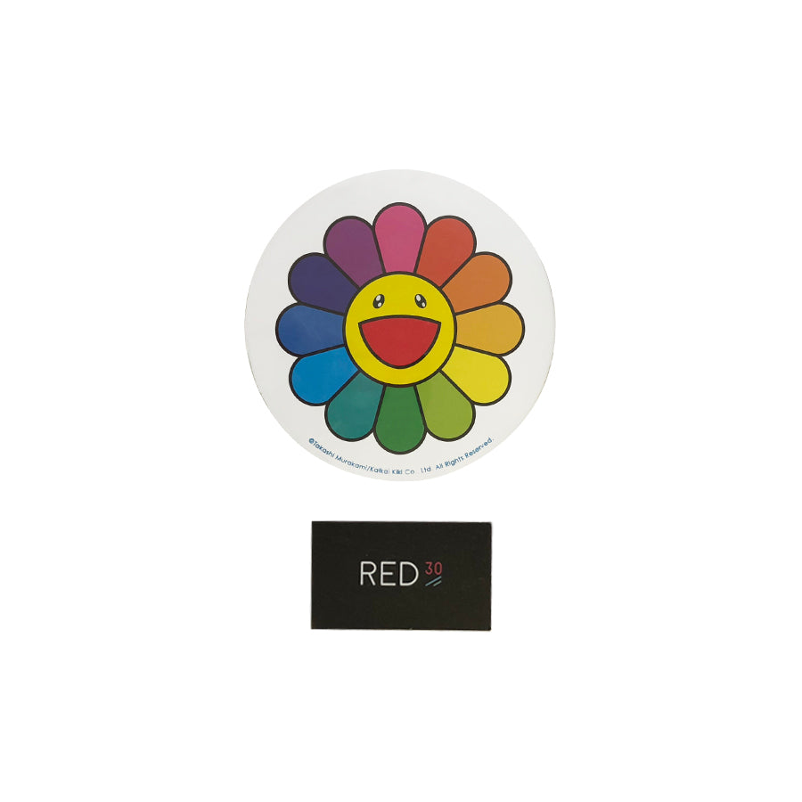 Murakami Flower Badge pin