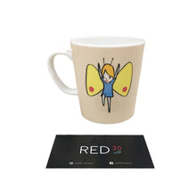 Load image into Gallery viewer, Yoshitomo Nara Limited Edition Butterfly Mug