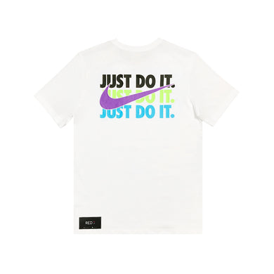 Nike Multicolor Just Do It Tee White