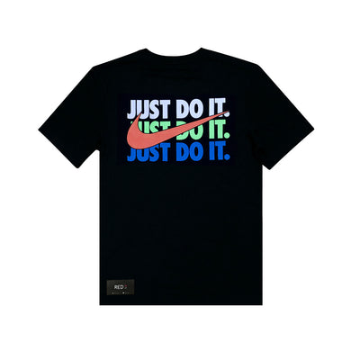 Nike Multicolor Just Do It Tee Black
