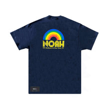 Load image into Gallery viewer, Noah Rainbow Tee Navy