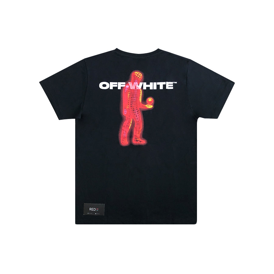 Off White Hands And Planet S/S Tee Black