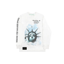 Load image into Gallery viewer, Off White Liberty Long Sleeve Tee White