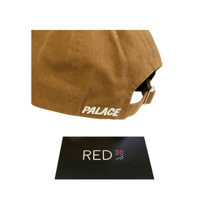 Palace P - 6 Panel Cap Tan