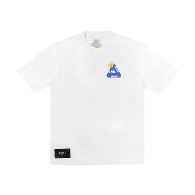 Palace Tri Smiler Tee White