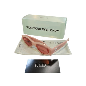 Off White Final Elegence Sunglasses Pink