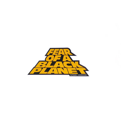 Supreme / Undercover / Public Enemy Fear Of The Black Planet Sticker
