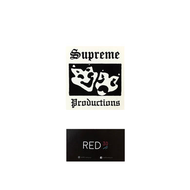 Supreme Production Sticker