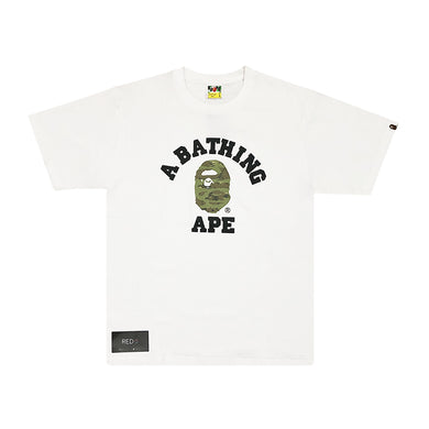 A Bathing Ape Tiger Camo College Tee