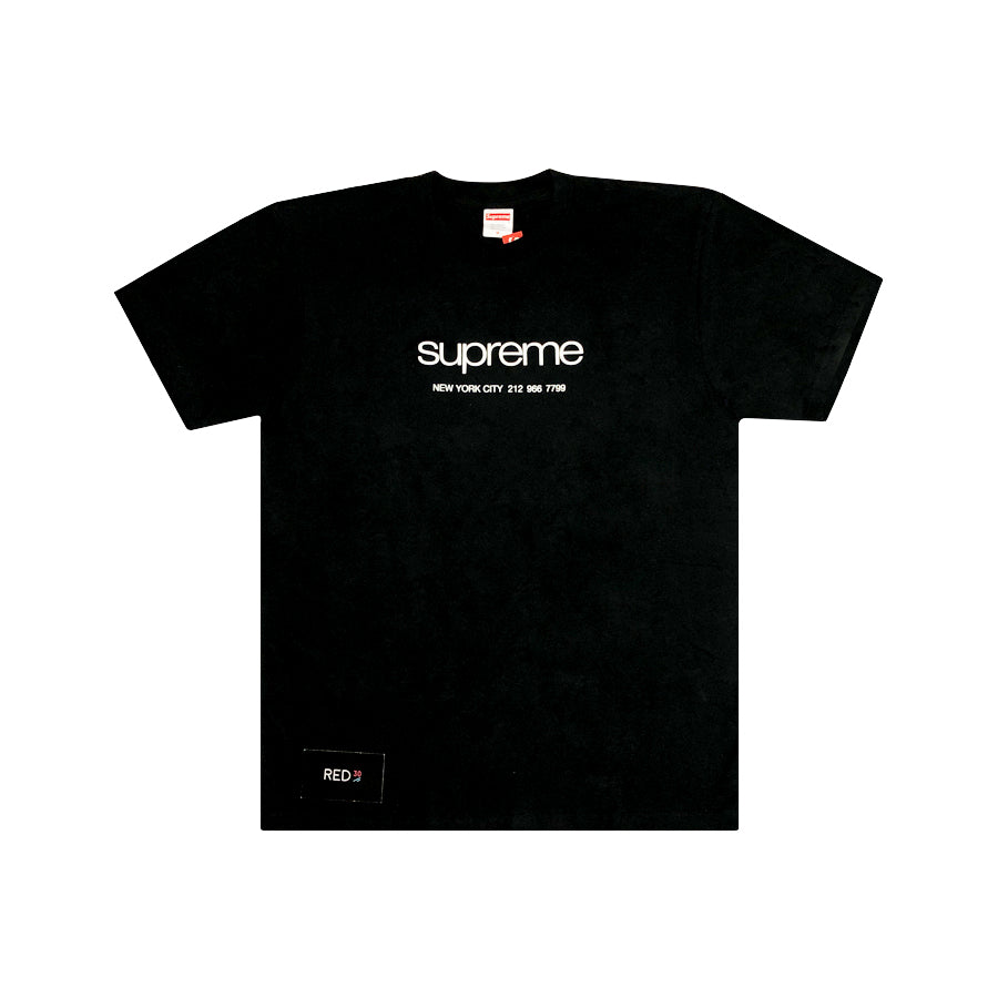 Supreme Shop Tee Black