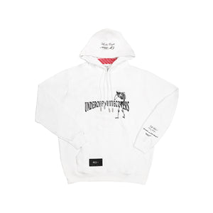Off White X Undercover Skeleton Hoodie White