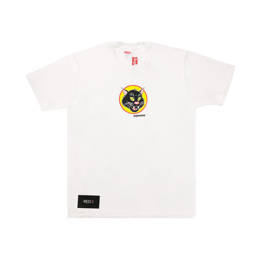Supreme Black Cat Tee White
