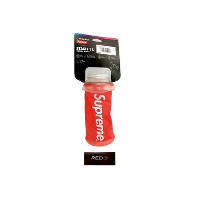 Supreme HydraPak Stash 1L Bottle Red