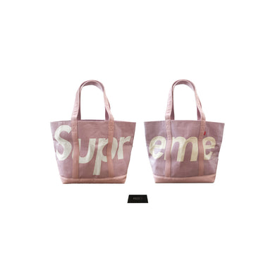 Supreme Raffia Tote Bag Purple