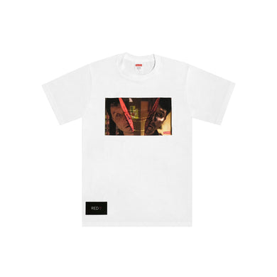 Supreme Split Tee White