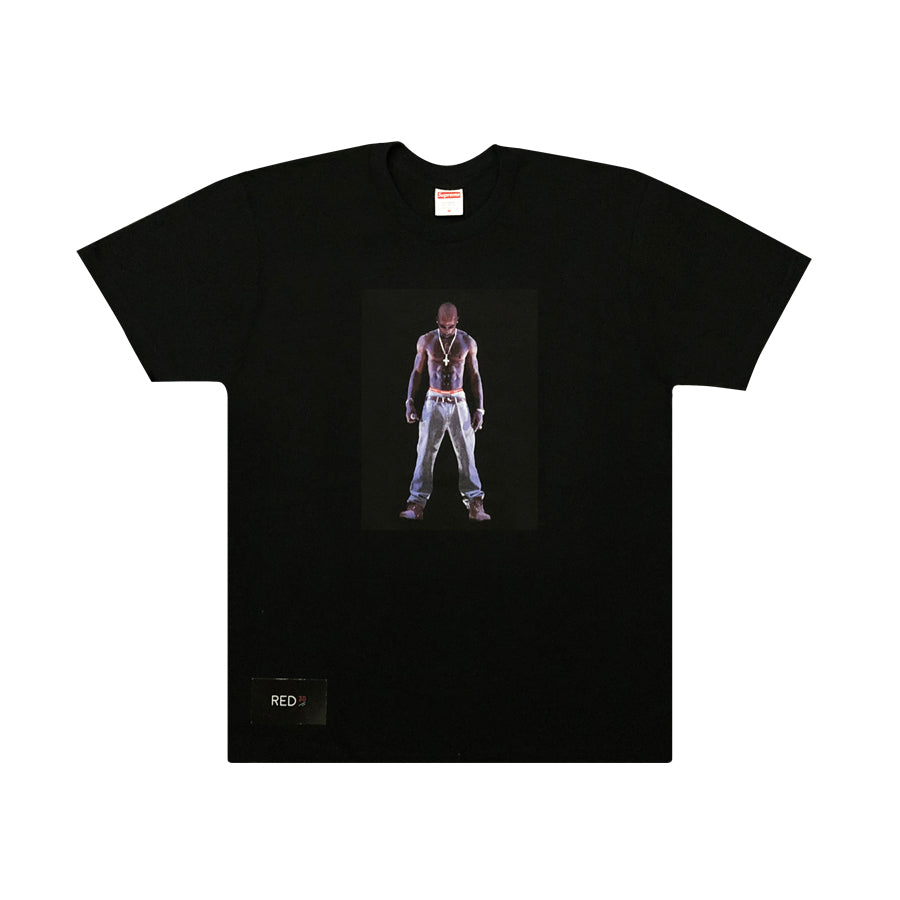 Supreme Tupac Hologram Tee Black